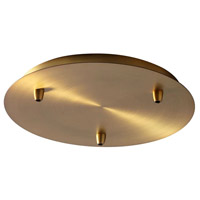 Oxygen Lighting 3-8-6340 Signature Aged Brass Multi Pendant Canopy