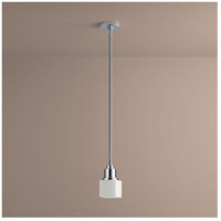 Oxygen Lighting 3-8110-14 Elements 1 Light 4 inch Polished Chrome Pendant Ceiling Light