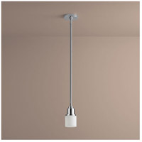 Oxygen Lighting 3-8120-14 Elements 1 Light 4 inch Polished Chrome Pendant Ceiling Light