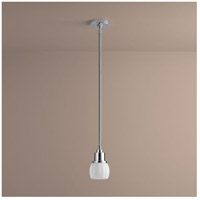 Oxygen Lighting 3-8130-14 Elements 1 Light 5 inch Polished Chrome Pendant Ceiling Light