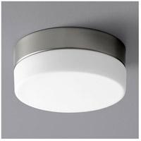 Oxygen Lighting 32-630-24 Zuri LED 7 inch Satin Nickel Flush Mount Ceiling Light