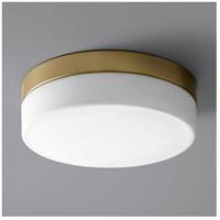 Oxygen Lighting 32-631-40 Zuri LED 11 inch Aged Brass Flush Mount Ceiling Light