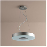 Oxygen Lighting 32-660-24 Dione 1 Light 15 inch Satin Nickel Pendant Ceiling Light