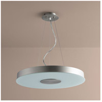 Oxygen Lighting 32-661-24 Dione 1 Light 21 inch Satin Nickel Pendant Ceiling Light