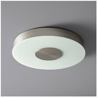 Oxygen Lighting 32-664-24 Dione 1 Light 15 inch Satin Nickel Flush Mount Ceiling Light