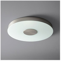 Oxygen Lighting 32-665-24 Dione 1 Light 21 inch Satin Nickel Flush Mount Ceiling Light