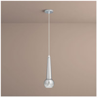 Comet 1 Light 5 inch Smoke Ombre Pendant Ceiling Light