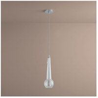 Comet 1 Light 5 inch Polished Chrome Pendant Ceiling Light