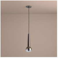 Comet 1 Light 5 inch Coffee Ombre Pendant Ceiling Light