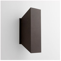 Duo 2 Light 12 inch Oiled Bronze Outdoor Wall Light