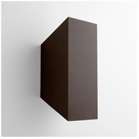 Duo 2 Light 14 inch Oiled Bronze Outdoor Wall Light