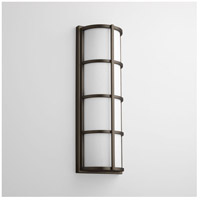 Leda 2 Light 22 inch Oiled Bronze Outdoor Wall Light