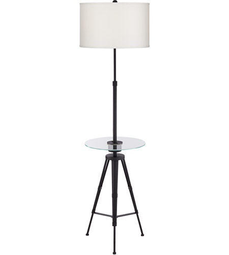 Glass and Metal Floor Lamps