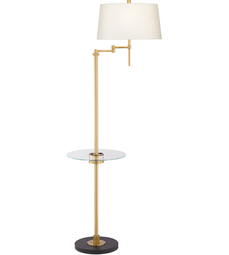 Metallic Gold Glass Floor Lamps