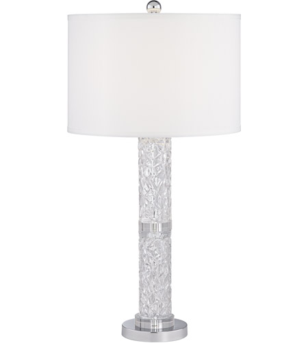 Silver Acrylic Table Lamps