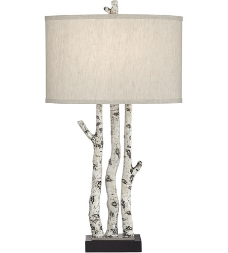 Pacific Coast 62w49 White Forest 23 Inch 150 Watt Natural Table
