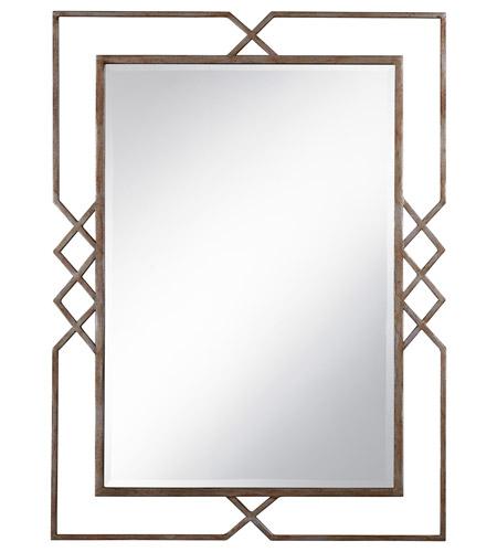 Pacific Coast 82 8815 26 Signature 48 X 36 Inch Silver Gold Mist Glaze Wall Mirror