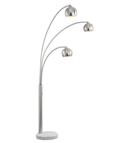 Pacific Coast Nickel Floor Lamps
