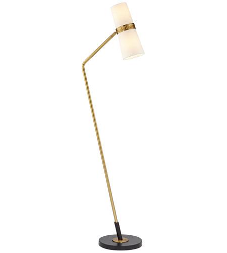 pacific coast vandella 68 inch 80 watt matte gold floor lamp portable light - Gold Floor Lamp