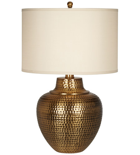 Merveilleux Pacific Coast 87 1816 02 Maison Loft 27 Inch 150 Watt Antique Brass Table  Lamp Portable Light