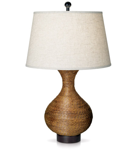 Pacific Coast 87 6404 38 Pacific Reed Vase 32 Inch 150 Watt Wheat Table Lamp  Portable Light