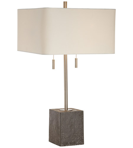 Brushed Nickel Steel Table Lamps