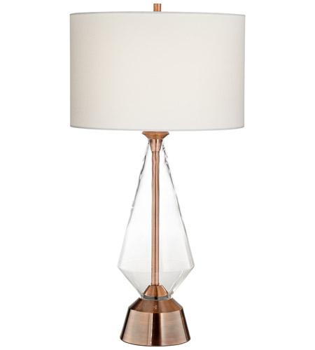 Pacific Coast 87 7888 30 Bellini 33 Inch 150 Watt Copper Table Lamp  Portable Light