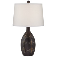 Charcoal Ceramic Table Lamps