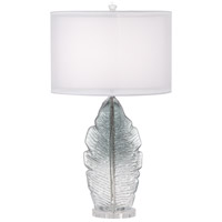 Pacific Coast 36F38 Arini 30 inch 150 watt Grey Table Lamp Portable Light
