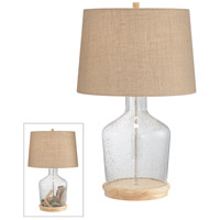 Pacific Coast Clear Metal Table Lamps