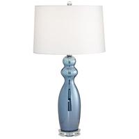 Pacific Coast 37M96 Tagus 30 inch 150 watt Slate Blue Table Lamp Portable Light