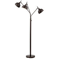 Pacific Coast 37T90 Ironworks 71 inch 60 watt Bronze Floor Lamp Portable Light
