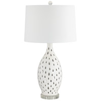 Pacific Coast 43Y14 Coral Coast 27 inch 150 watt Mother of Pearl Table Lamp Portable Light