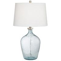 Pacific Coast 43Y18 Ocean Breeze 28 inch 150 watt Blue Sea Table Lamp Portable Light