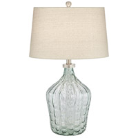 Pacific Coast 43Y19 Seagrass 27 inch 150 watt Green Table Lamp Portable Light