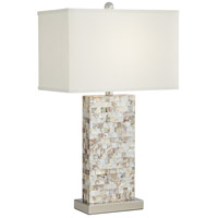 Pacific Coast 43Y20 Mother Of Pearl 29 inch 150 watt Mother of Pearl Table Lamp Portable Light