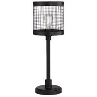 Pacific Coast 44T62 Samuel 24 inch 60 watt Black Table Lamp Portable Light