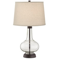 Pacific Coast 44H48 Silas 25 inch 100 watt Rubbed Bronze Table Lamp Portable Light