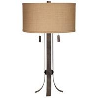 Pacific Coast 87-7426-C7 Pullman 32 inch 75 watt Wrought Iron Table Lamp Portable Light