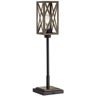 Pacific Coast 60G05 Paseo 28 inch 75 watt Bronze Table Lamp Portable Light