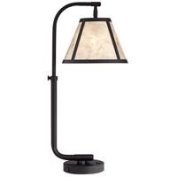 Pacific Coast 60M82 Hayden 29 inch 100 watt Black Table Lamp Portable Light