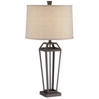 Pacific Coast 60Y70 Syler 32 inch 150 watt Dark Bronze Table Lamp Portable Light