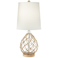 Clear Wood Table Lamps