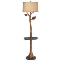 Pacific Coast 65E42 Piney 67 inch 150 watt Brown Floor Lamp Portable Light