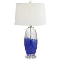 Pacific Coast 67W46 Bluejay 27 inch 150.00 watt Medium Blue Table Lamp Portable Light