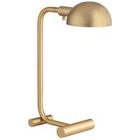 Pacific Coast 70T25 Calahan 24 inch 75 watt Antique Brass Plated Table Lamp Portable Light