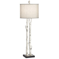 Pacific Coast 70W27 White Forest 36 inch 75.00 watt Natural Powdercoat Table Lamp Portable Light