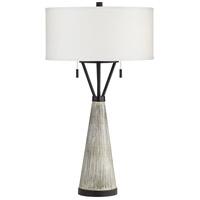 Pacific Coast 71N94 Oakland 29 inch 100.00 watt Grey Wash Table Lamp Portable Light KI Essentials
