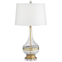 Pacific Coast 73D09 Katella 29 inch 100.00 watt Antique Brass Plated Table Lamp Portable Light