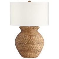 Pacific Coast 73D72 Tinley 30 inch 150.00 watt Brown-Weave Table Lamp Portable Light